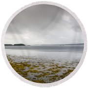 Twillingate Bay Round Beach Towel