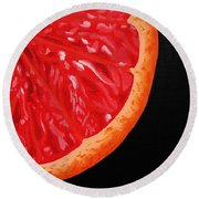 Twisted Passion Round Beach Towel