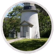 Two Of The Three Sisters Of Nauset Beach - Ma Round Beach Towel