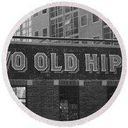 Two Old Hippies In Nashville Round Beach Towel