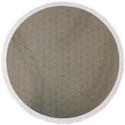 Two To The Power Of Nine Or Eight Cubed Round Beach Towel