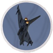 Typhoon Afterburner Round Beach Towel