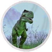 Tyrannosaurus Rex  T- Rex Round Beach Towel