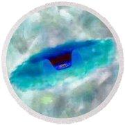 UFO Round Beach Towel