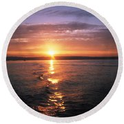 Unbelievable Sunrise Round Beach Towel