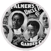 Uncle Tom's Cabin Company Round Beach Towel