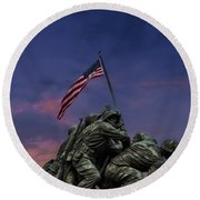 Uncommon Valor Was A Common Virtue Round Beach Towel