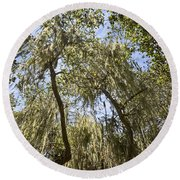 Under The Canopy - The Magical And Mysterious Trees Of The Los Osos Oak Reserve Round Beach Towel