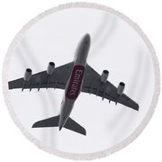Undercarriage Round Beach Towel