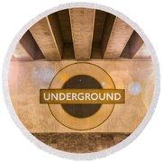 Underground Underground Round Beach Towel