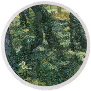 Undergrowth Round Beach Towel