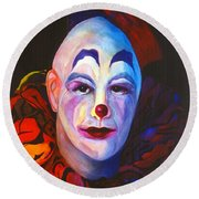 Underneath The Laughter Round Beach Towel