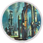Underwater Cathedral By Chris Round Beach Towel
