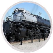 Union Pacific Big Boy Round Beach Towel