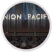 Union Pacific - Big Boy Tender Round Beach Towel