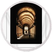 Union Station Dc Poster Round Beach Towel