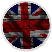 United Kingdom Round Beach Towel