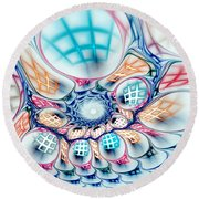 Universe In A Bag Round Beach Towel