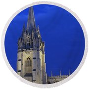 University Church Of St Mary The Virgin Round Beach Towel