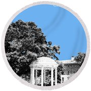 University North Carolina Chapel Hill - Light Blue Round Beach Towel