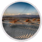 Unspoken Round Beach Towel