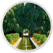 Untermyer Gardens And Park Round Beach Towel