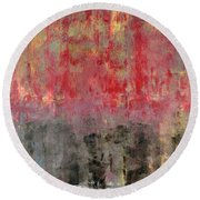 Untitled No. 6 Round Beach Towel