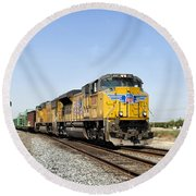 Up 8587 Southbound From Traver Round Beach Towel