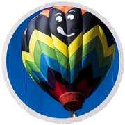 Up Up And Away In My Beautiful Balloon Round Beach Towel