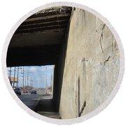 Urban Decay Train Bridge 2 Round Beach Towel