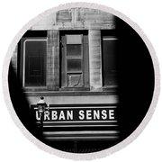 Urban Sense 1b Round Beach Towel