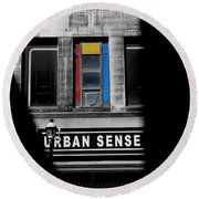 Urban Sense 1c Round Beach Towel