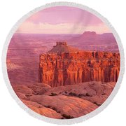 Usa, Utah, Canyonlands National Park Round Beach Towel