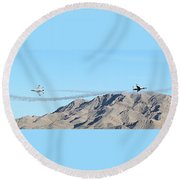 Usaf Thunderbirds Precision Flying Two Round Beach Towel