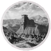Utah Outback 18 Round Beach Towel