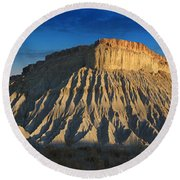 Utah Outback 40 Panoramic Round Beach Towel