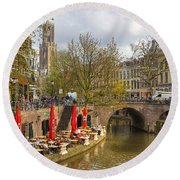 Utrecht Round Beach Towel