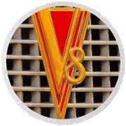V8 Lasalle Round Beach Towel