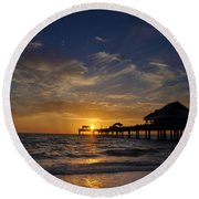 Vacation All I Ever Wanted Round Beach Towel by Bill Cannon