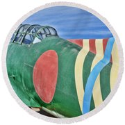 Val Clone Round Beach Towel by Tommy Anderson