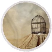 Vanishing Act Round Beach Towel by Amy Weiss