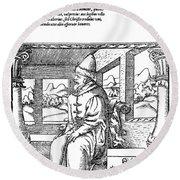Vasily IIi Ivanovich (1479-1533) Round Beach Towel