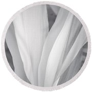 Veil Round Beach Towel