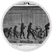 Velorution Round Beach Towel