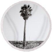 Venice Beach Round Beach Towel
