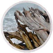 Ventura Driftwood II Round Beach Towel