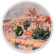 Verdun Round Beach Towel