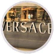 Versace Round Beach Towel