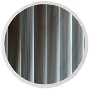 Vertical Blinds Round Beach Towel