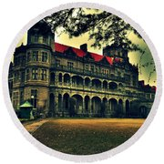 Viceregal Lodge Shimla Round Beach Towel